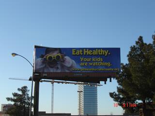 A billboard!