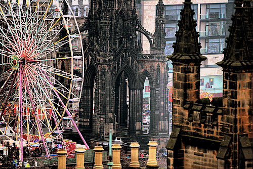 PhotoBlog : Much Fun at Edinburgh's Camera Obscura