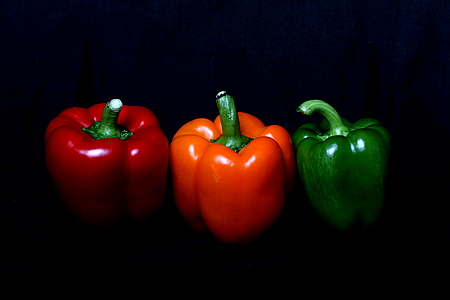 Three Colours Pepper