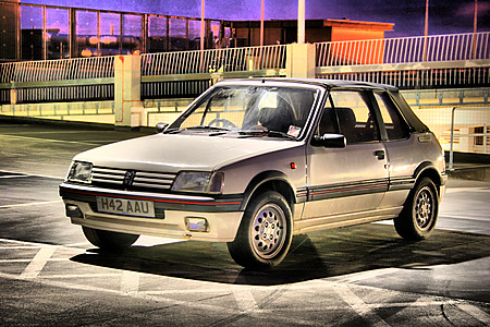 Serge the Peugeot 205 CTi in HDR