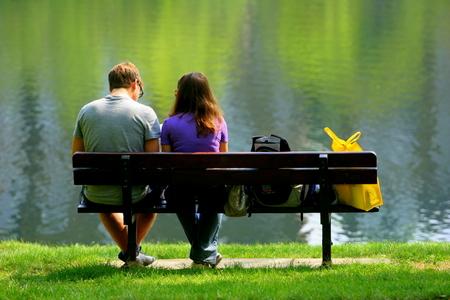 Sitting Together on Hampstead Heath