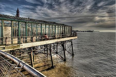 North Pier Fisherman