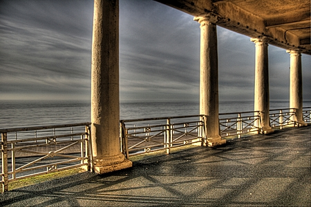 Blackpool Promenade Colonnade
