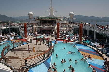 Pools on Deck 11