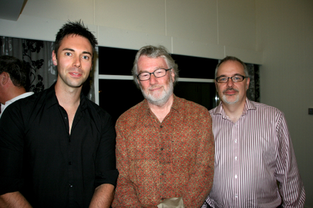 Me, Iain Banks and Will Jordan