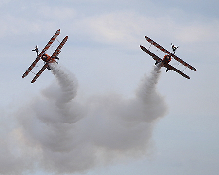 Boeing Stearman Splitting