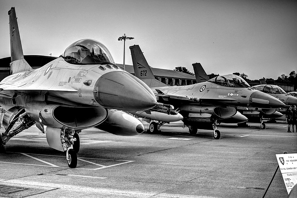 Danish Air Force F-16 Fighting Falcons