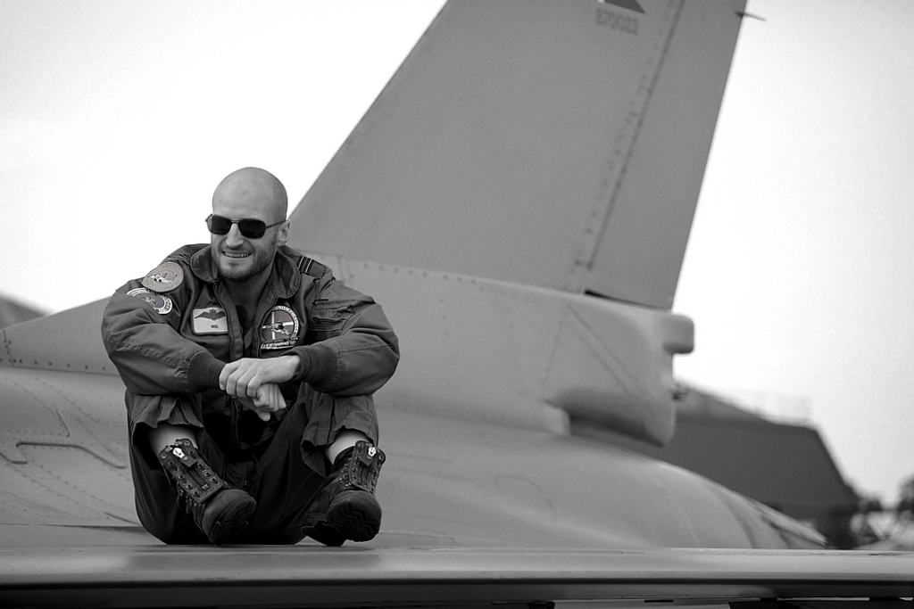 Danish Airforce Pilot