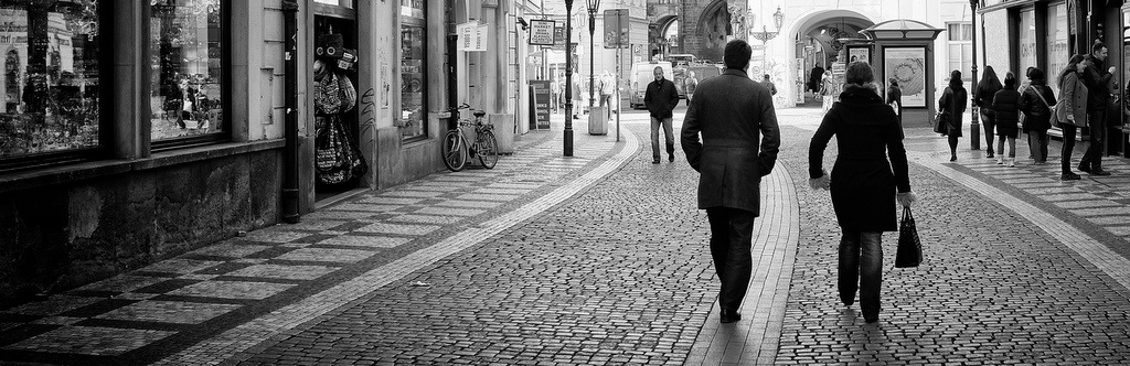 Prague Street Photography with the Fuji X100S