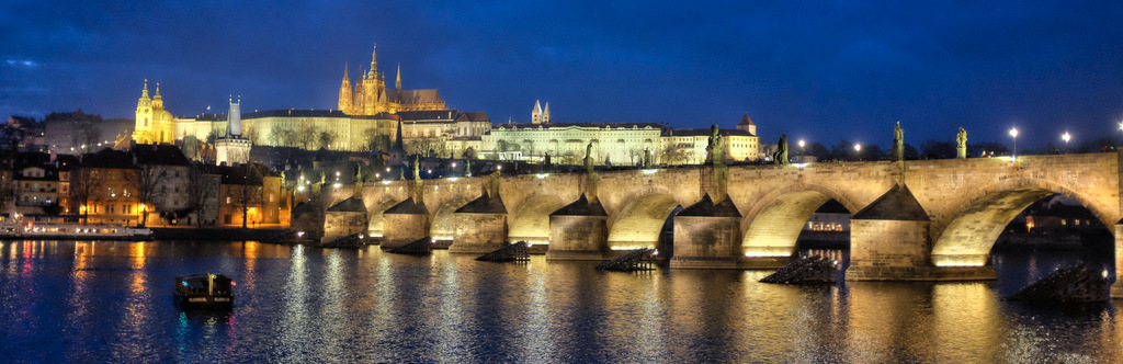 Prague Night Photography with the Fuji X100S