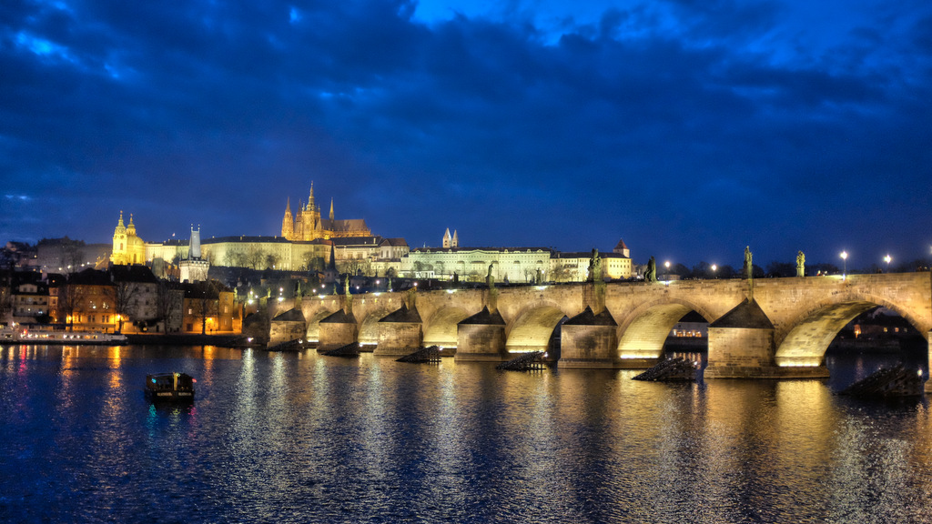 Charles Bridge Twilight