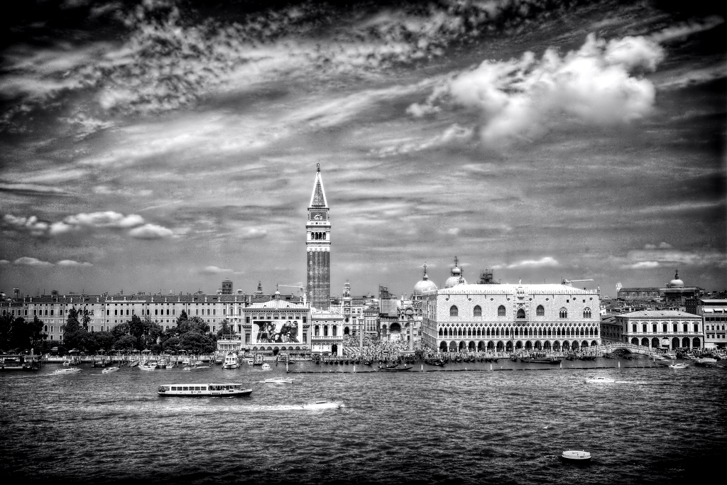San Marco, Doge's Palance and the Campanile from the water