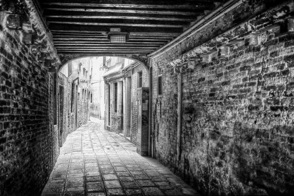 A Quiet Venice Alley