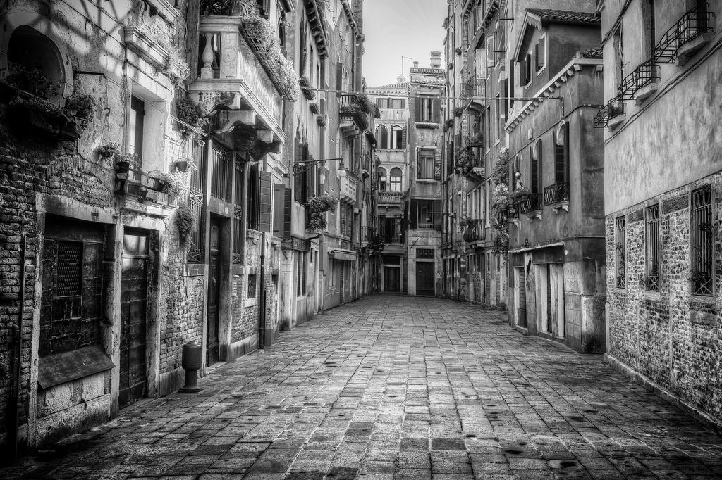An Empty Venice Street
