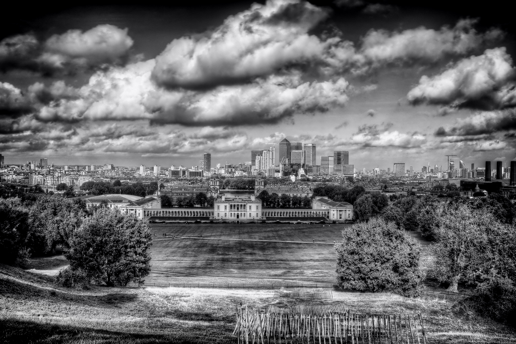 Greenwich from Royal Observatory