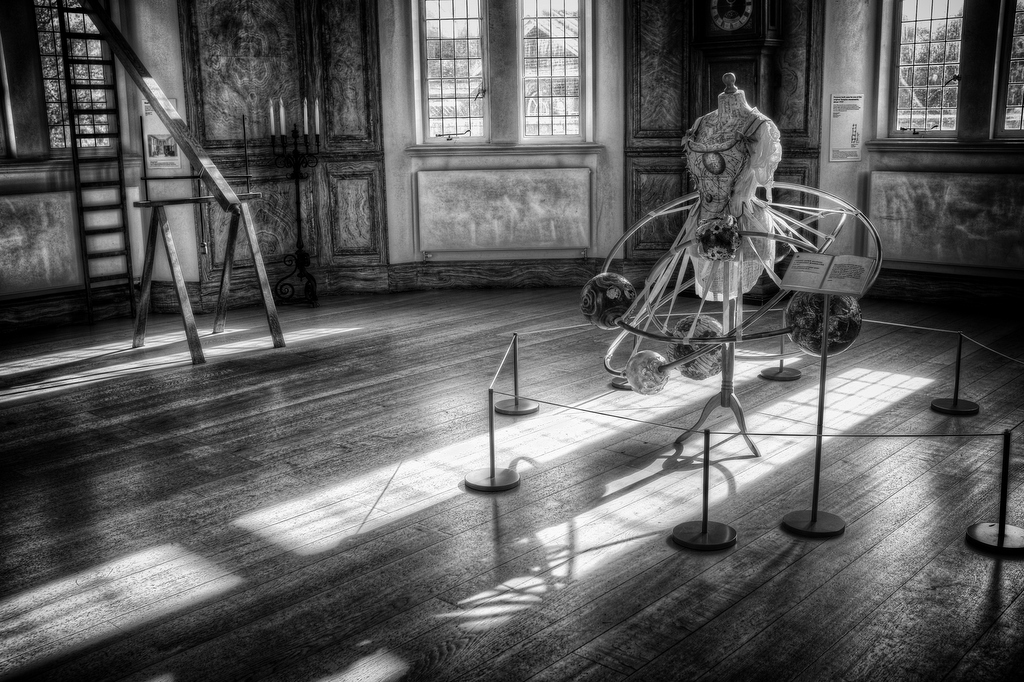 Octagon Room in Flamsteed House at Royal Observatory