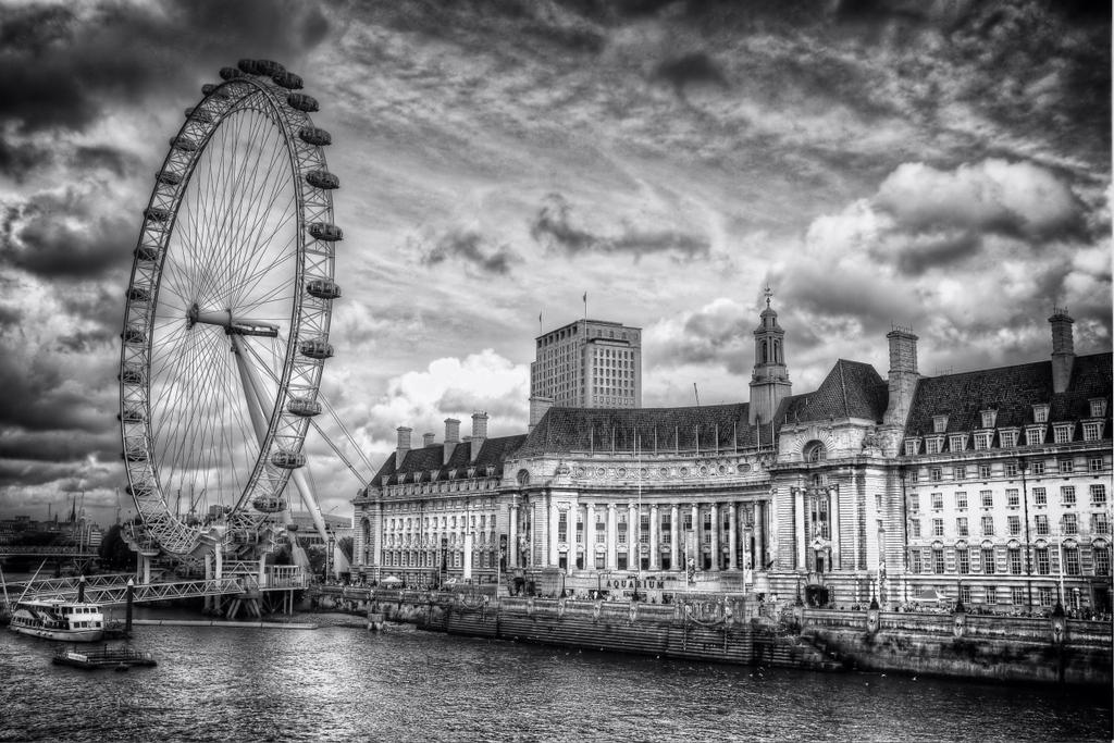 London Eye and Aquarium