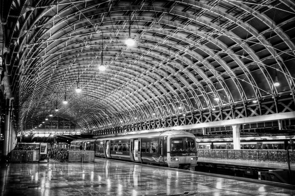 Paddington Station at Night