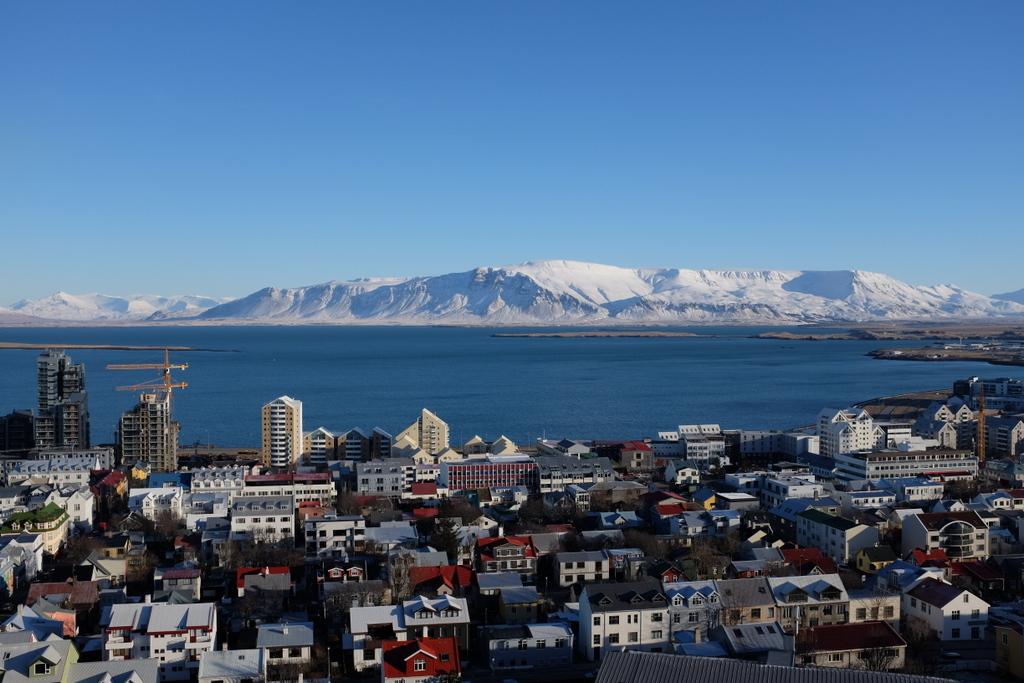 Reykjavik from the Tower of Hallgrímskirkja