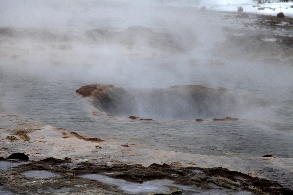 And this is what a Geysir looks like after it has done its thing