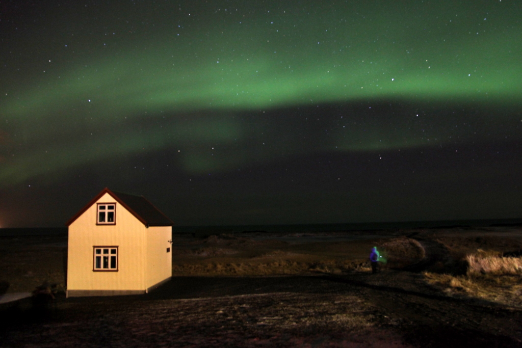Aurora Borealis Down By The Sea