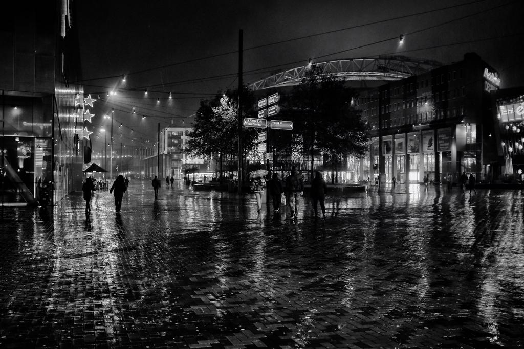 Back at Amsterdam Arena - Still raining