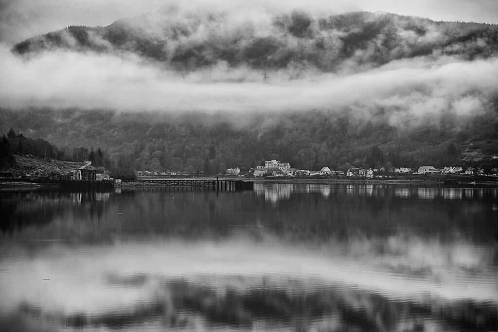 Arrochar on Loch Long
