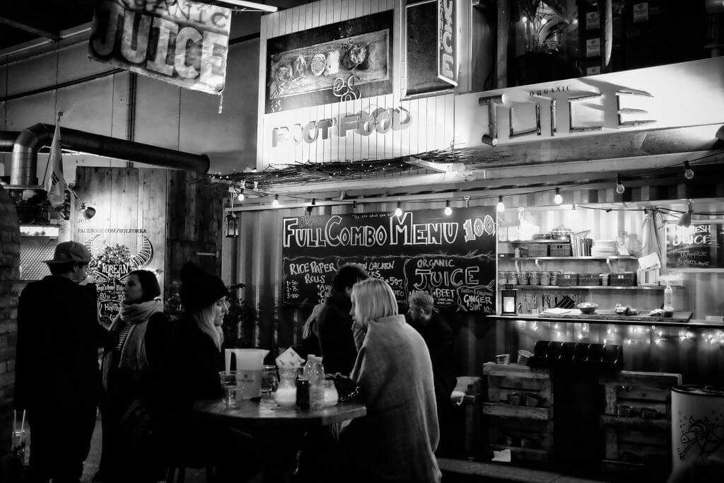 Papirøen - Paper Island, indoor street food, great atmosphere, great good