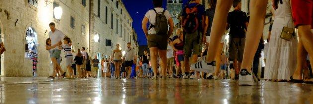 Night in Dubrovnik with the Fuji X100S